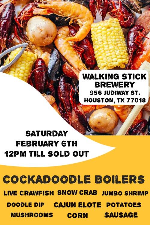 Cock-A-Doodle Seafood Boil 2/6/21